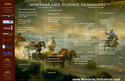 Montana Life Science Genealogy Poster, Present & Past